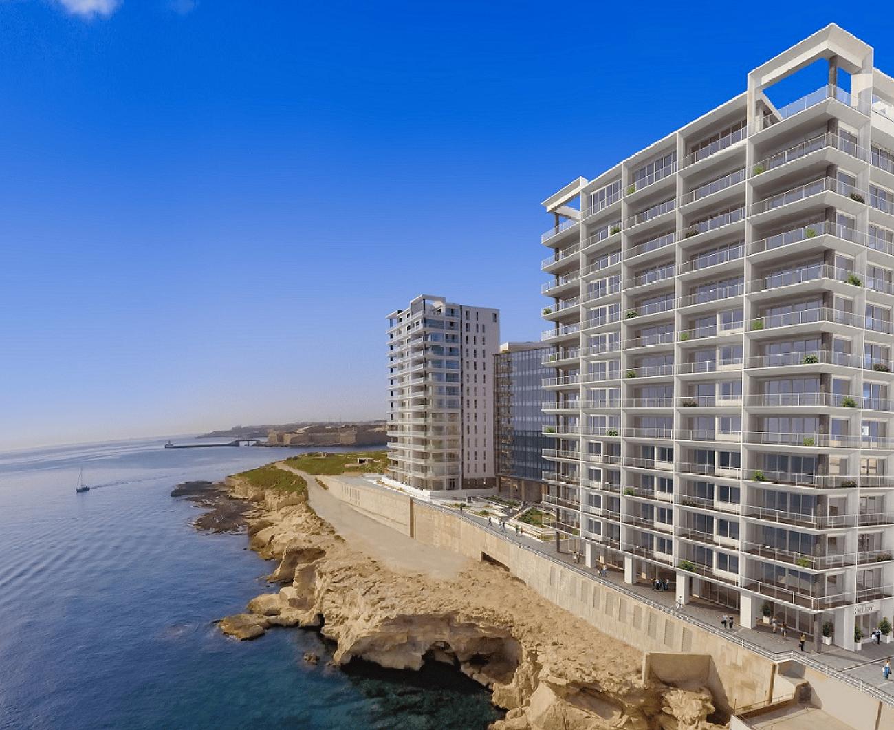 Tigné Point development Q2 awarded at the European Property Awards 2017-18