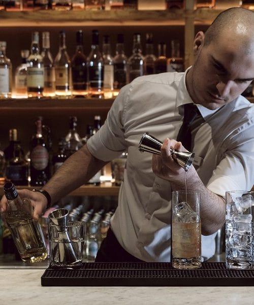 Chophouse at Tigne Point - Matteo bar tending